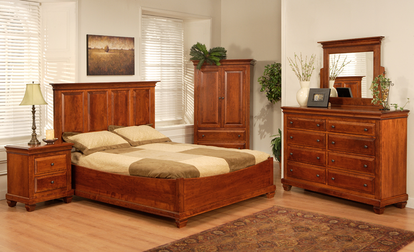 Solid Wood Canadian Bedroom Suites