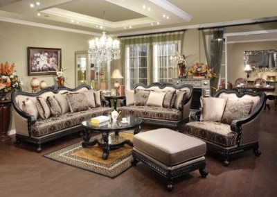 3 PC Set Fabric Living Room Sofa Set-Surrey_Furniture_WareHouse-002