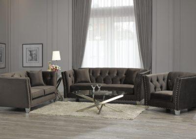 3 PC Set Fabric Living Room Sofa Set-Surrey_Furniture_WareHouse