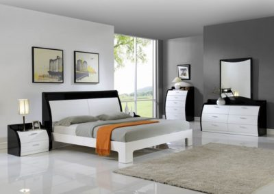 7 Pc Bedroom Suite Modern white color-Surrey_Furniture_WareHouse-001