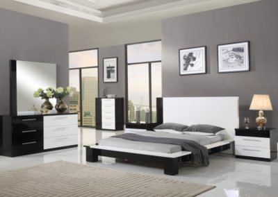 7 Pc Bedroom Suite Modern white color-Surrey_Furniture_WareHouse-002