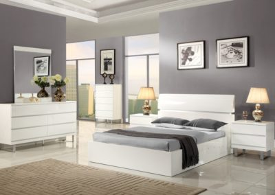 7 Pc Bedroom Suite Modern white color-Surrey_Furniture_WareHouse-003