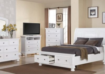 7 Pc Bedroom Suite white color-Surrey_Furniture_WareHouse