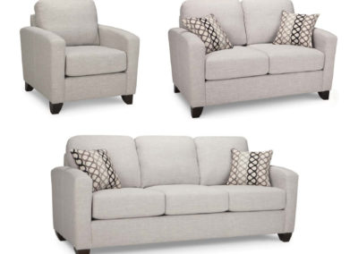 Custom made Fabric Sofa Set-Surrey_Furniture_WareHouse