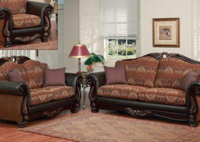 Fabric Living Room Sofa Set-Surrey_Furniture_WareHouse
