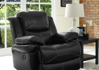 chair Leather Recliner-Surrey_Furniture_WareHouse